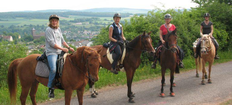 Wanderritte im Spessart und der fränkischen Schweiz